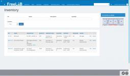FreeLAB - Inventory module