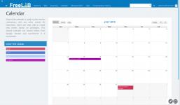 FreeLAB - Laboratory calendar